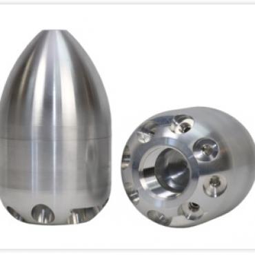 Duza desfundare canalizari din aluminiu cu ghidaje   KEG