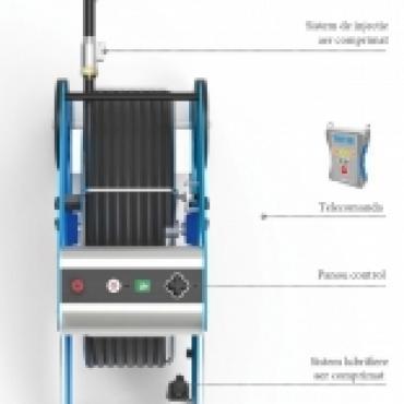 Robot cu perie de curatat tubulaturi Elementauto Teinnova – Tecai