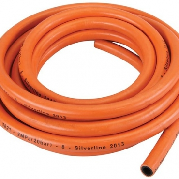 [4057057565361] Furtun de gaz Silverline 384964 fara conectori - 5 m