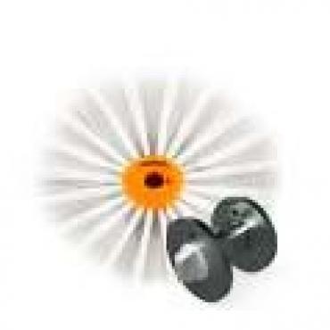 Perie nailon pentru conducte si tubulaturi cu adaptor de fixare - Teinnova TEgras