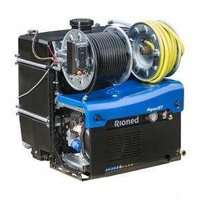 Echipament portabil desfundare/curatare canalizari (max. 350mm) Aquajet   Rioned