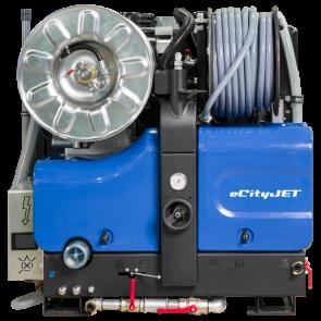 Echipament eco pentru desfundat canalizari/scurgeri cu baterii eCityJet   Rioned